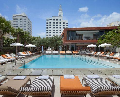 hyde beach miami sls hotel pool party