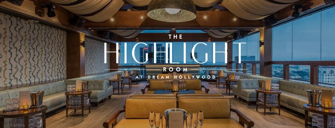 highlight room lounge party
