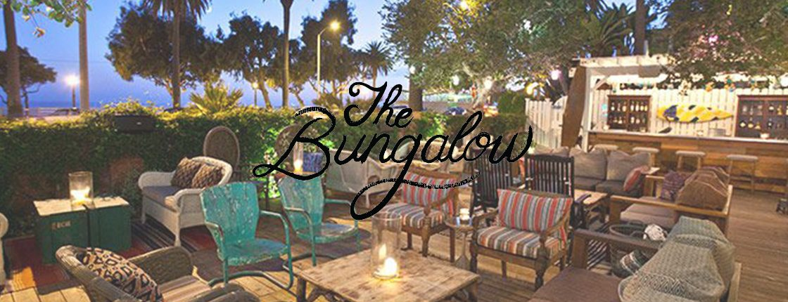 the bungalow santa monica patio table