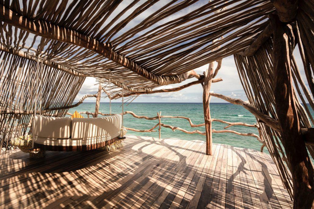Azulik Resort Tulum ocean view