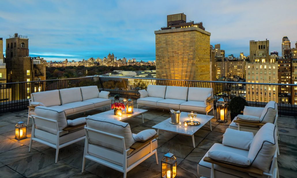 mark hotel new york rooftop patio city views