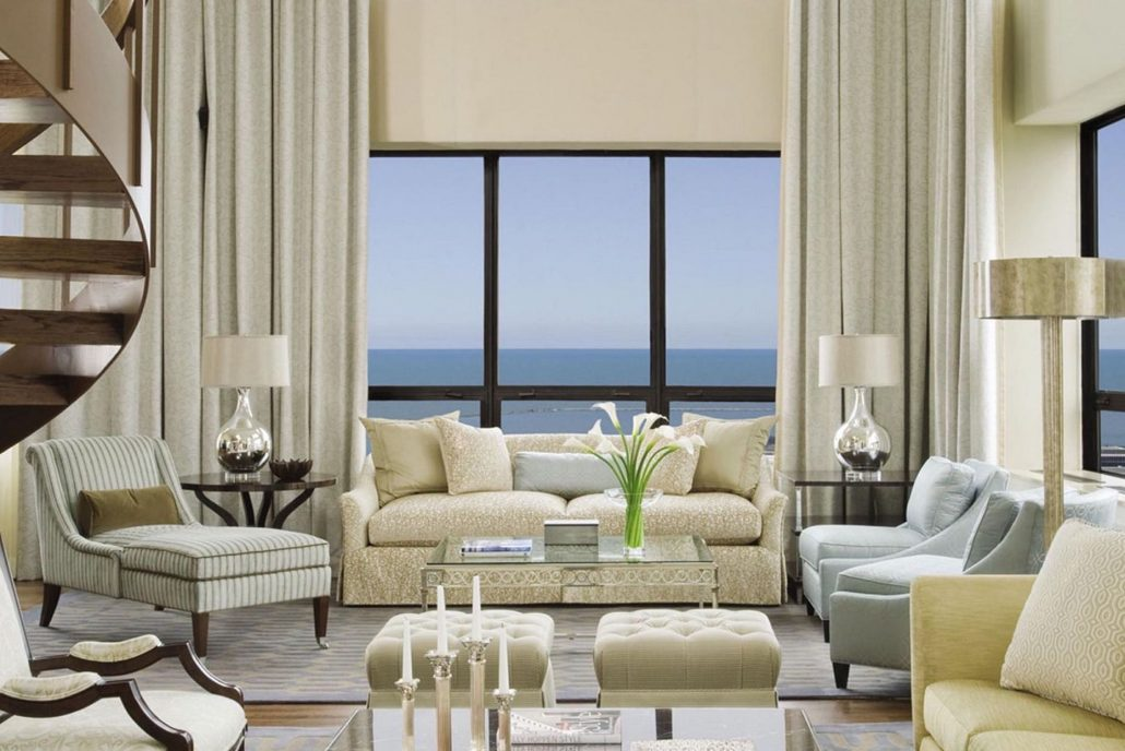 ritz carlton chicago penthouse window view of water
