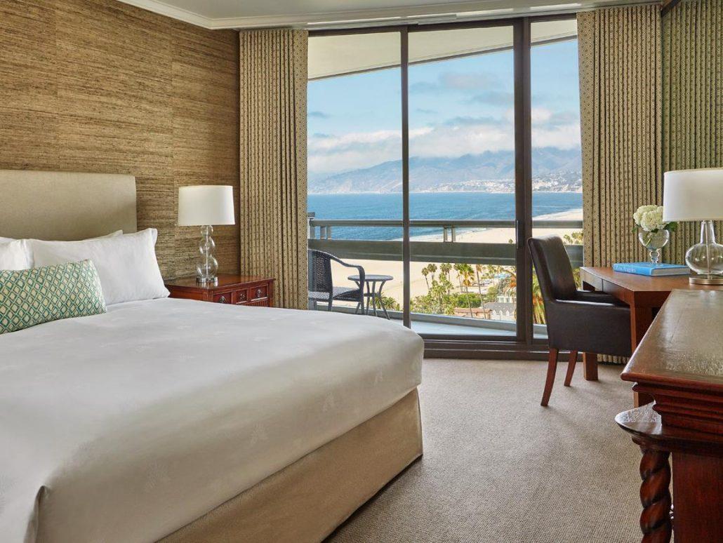 fairmont miramar bedroom ocean view
