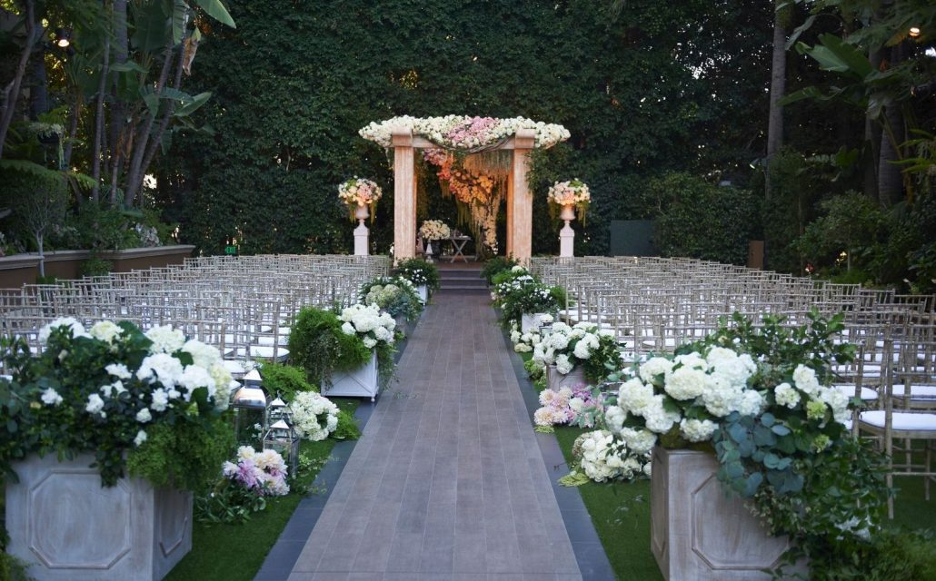 four seasons wedding venue los angeles