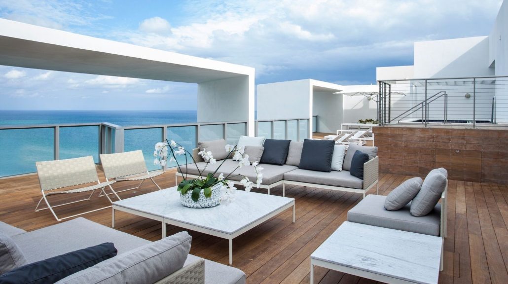 e wow penthouse suite at w south beach rooftop