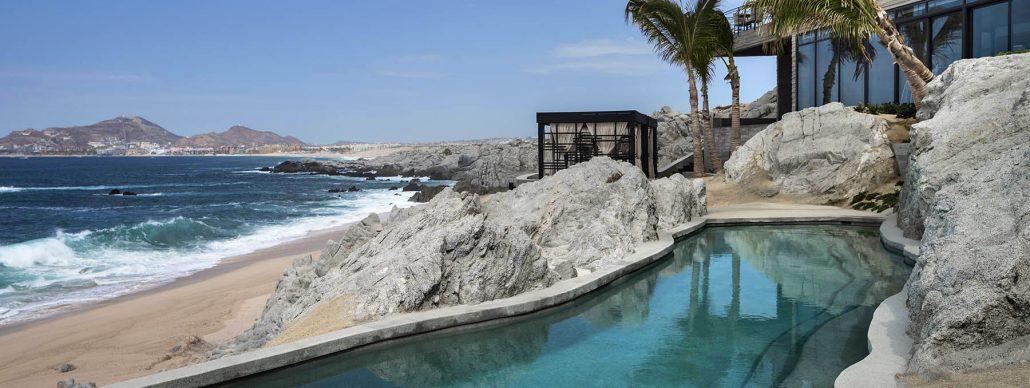 thompson cape pool by ocean