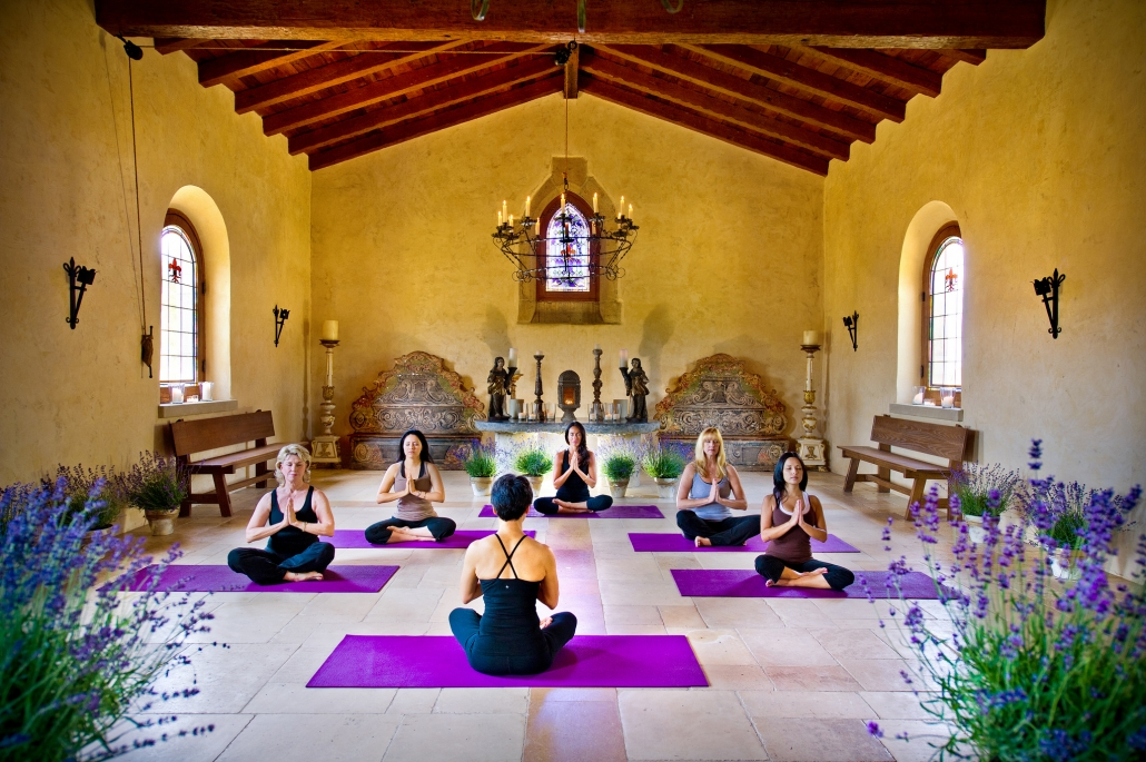 toga meditation wellness retreat