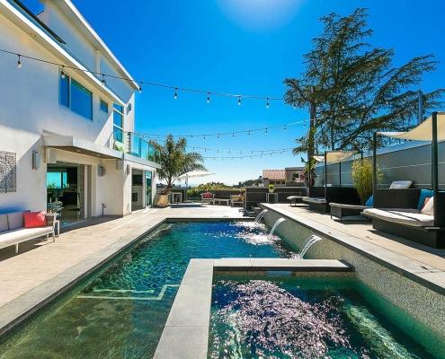 mount olympus marvel hollywood hills villa rental