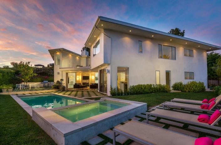 venus modern hollywood hills los angeles villa rental