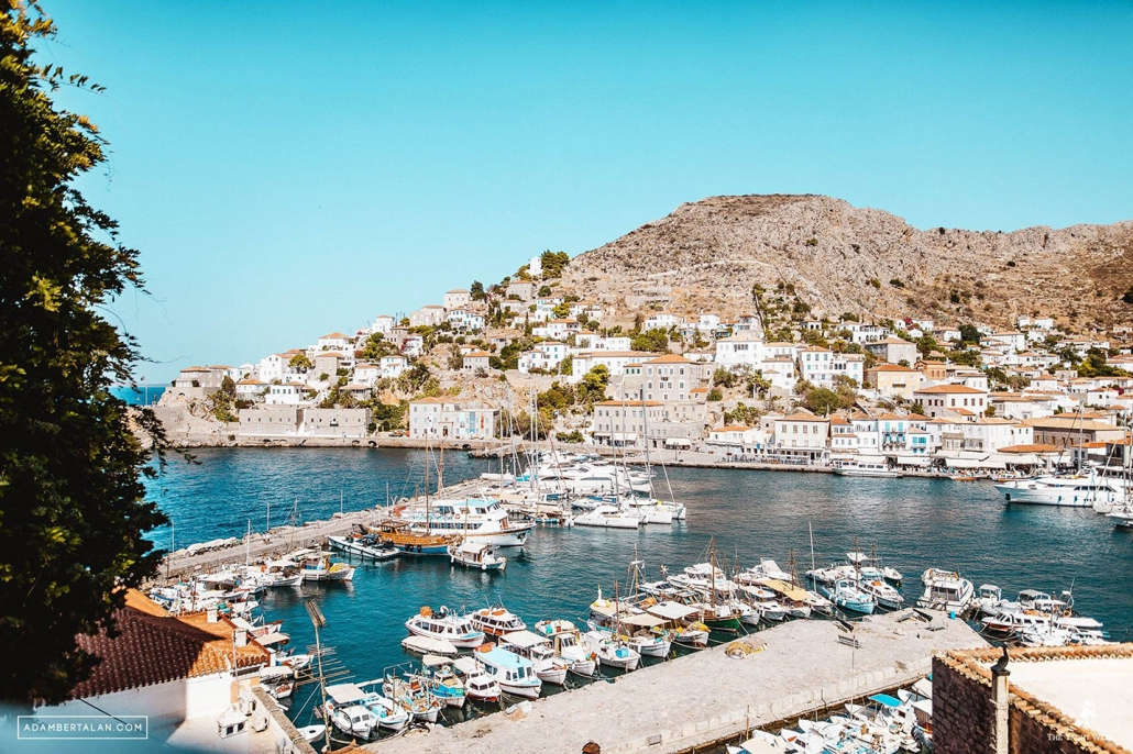 the Yacht Week greece hydra marina