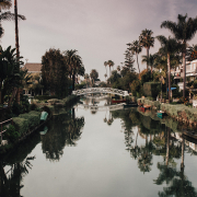 venice canals los angeles landmark