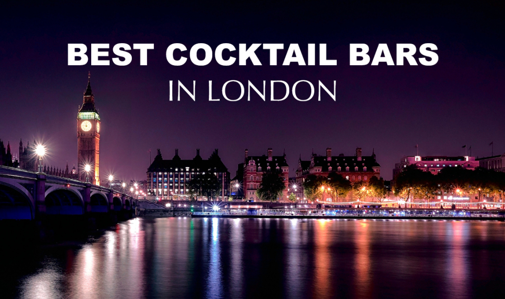 london bridge at night best cocktail bars in london