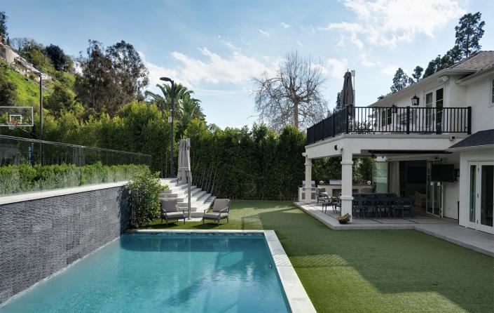 porsha estate beverly hills villa rental