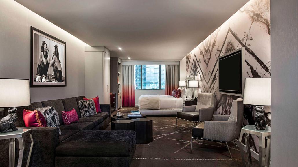cosmopolitan las vegas suite beds