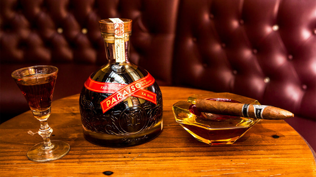 la descarga cigar with rum