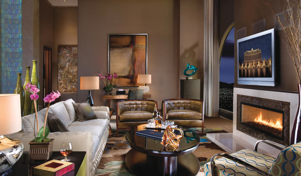 Presidential Suite at the Bellagio