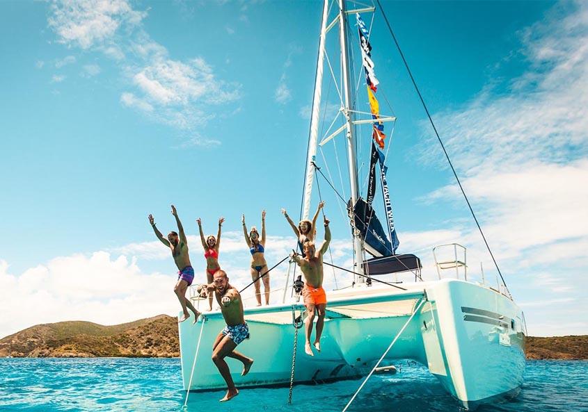 Yacht Week BVI Jost Van Dyke