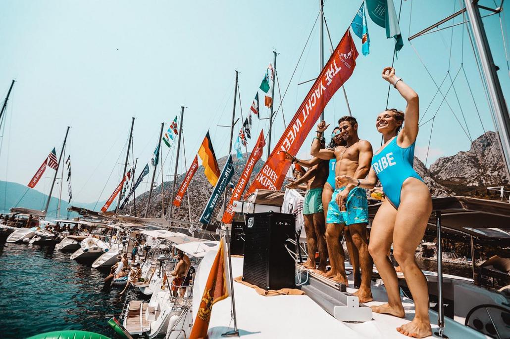 Yacht Week Montenegro Crew