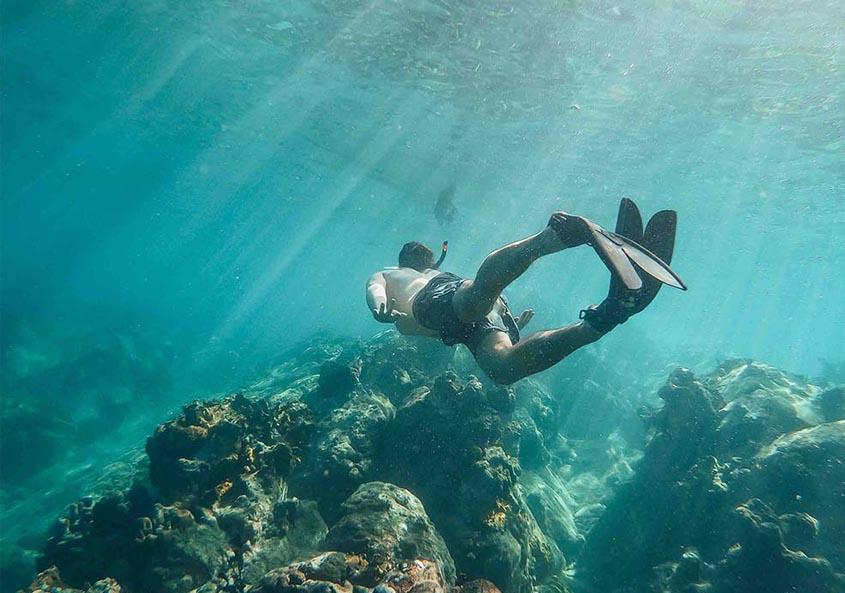 Yacht Week BVI Diving