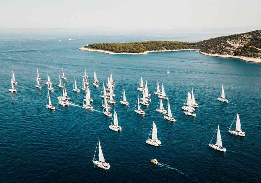 The Yacht Week Greece Regatta