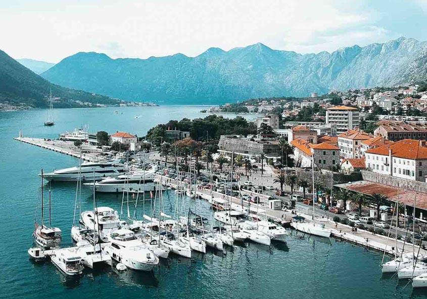 Yacht Week Montenegro Marina