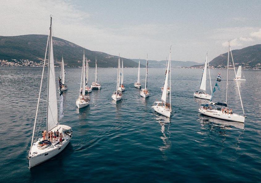 Yacht Week Montenegro Sailing