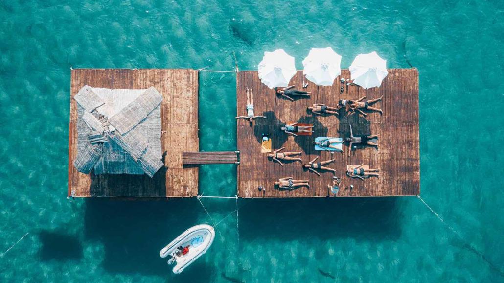 Yacht Week Montenegro Yoga