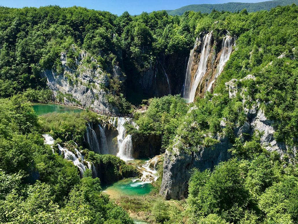 Plitvice Lakes Croatia waterfalls honeymoon destination