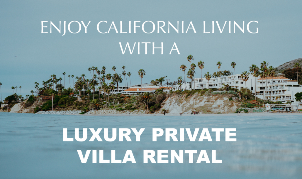 california shoreline villa rentals
