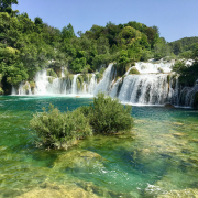 Krka National Park Croatia waterfalls honeymoon destinations