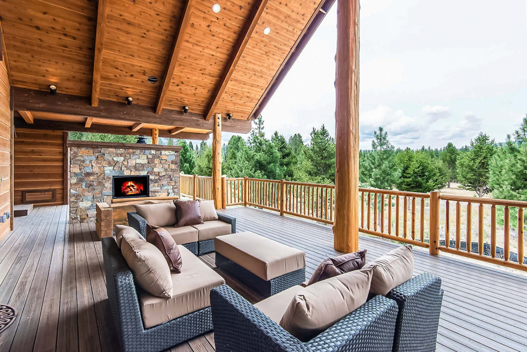 lake tahoe luxury villa rental corporate retreat patio seating
