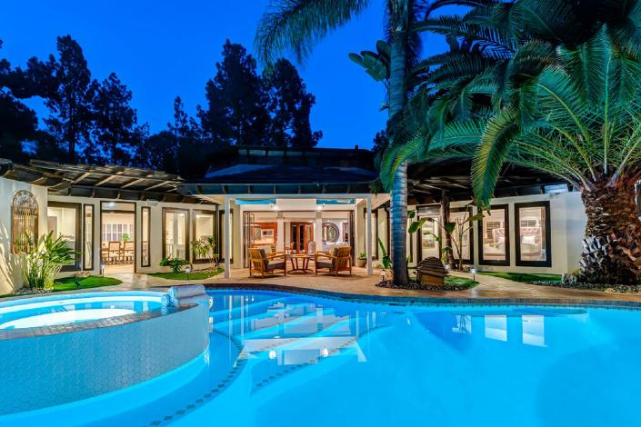 hollywood resort villa rental los angeles