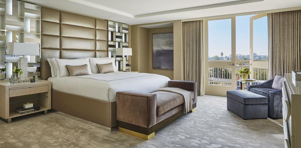 L'Ermitage Presidential Suite Bedroom