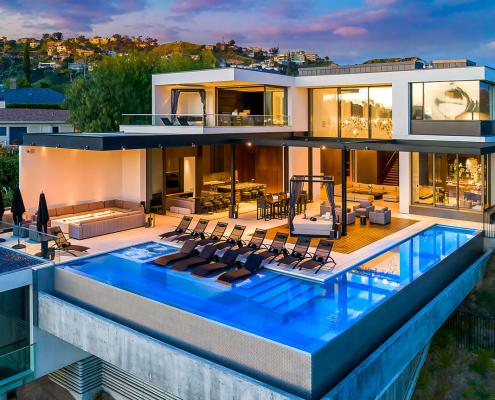 stratt house hollywood hills los angeles villa rentals
