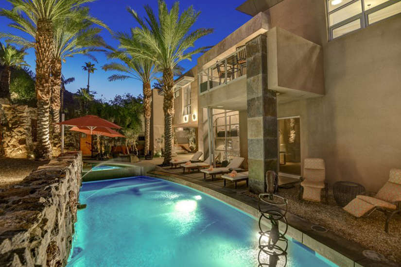 the lookout palm springs villa rental