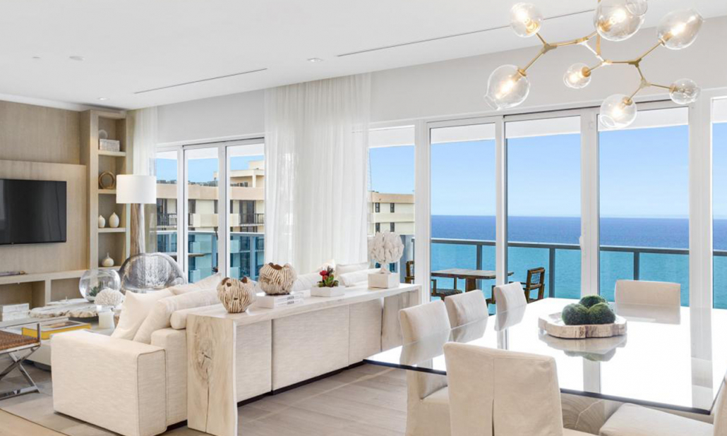 1 hotel south beach 3 bedroom penthouse balcony suite