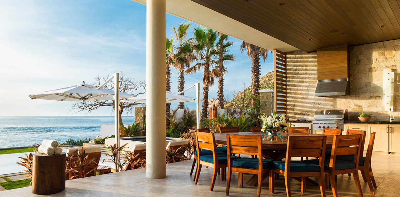 chileno bay resort brisa del mar 6 bedroom outdoor dining