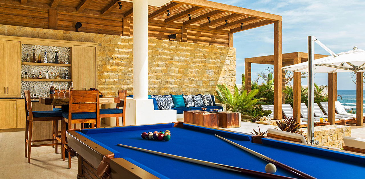 chileno bay resort brisa del mar 6 bedroom pool table
