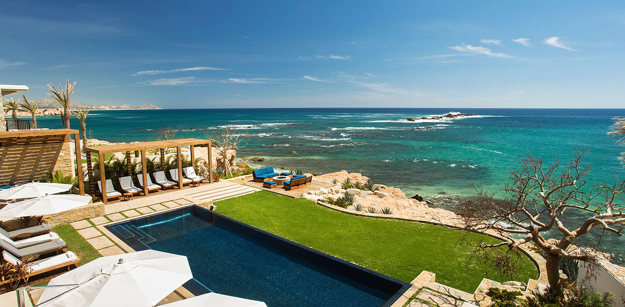 chileno bay resort brisa del mar 6 bedroom pool backyard ocean view