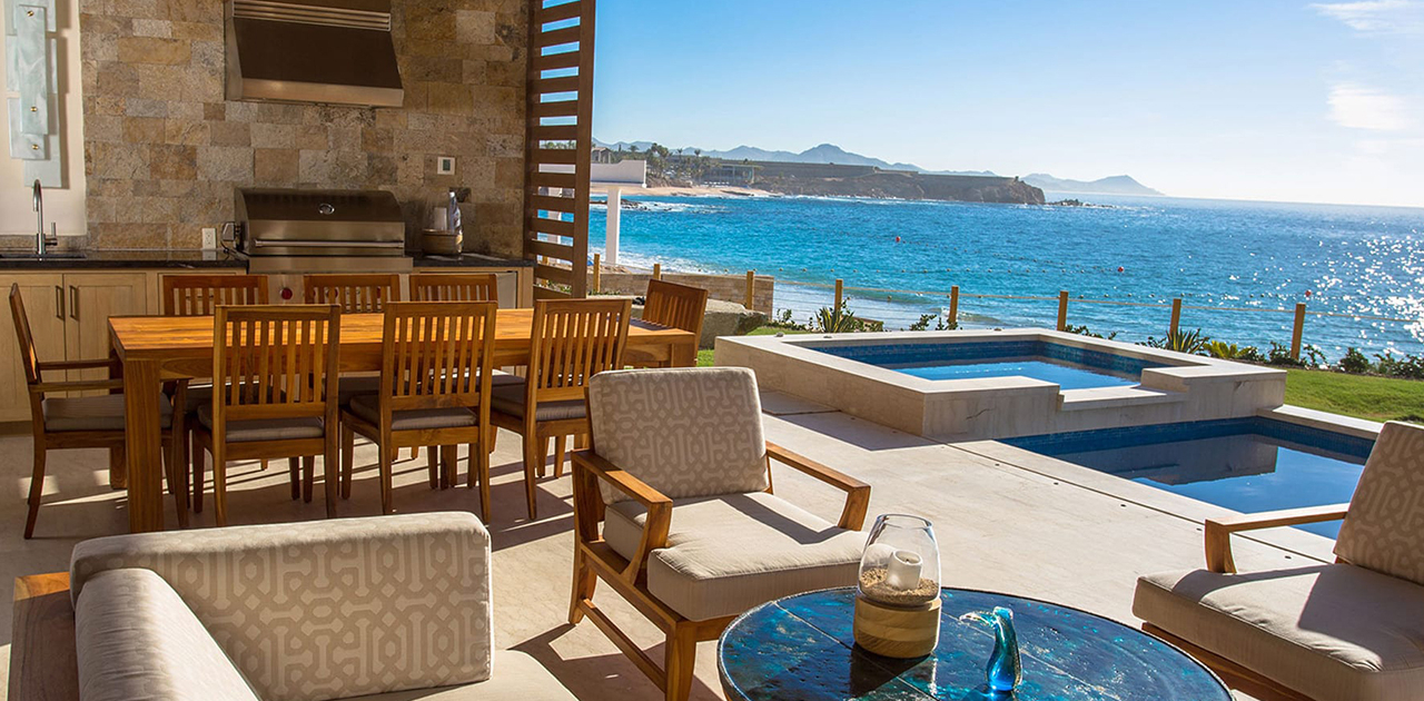 chileno bay resort 4 bedroom villa oceanfront pool