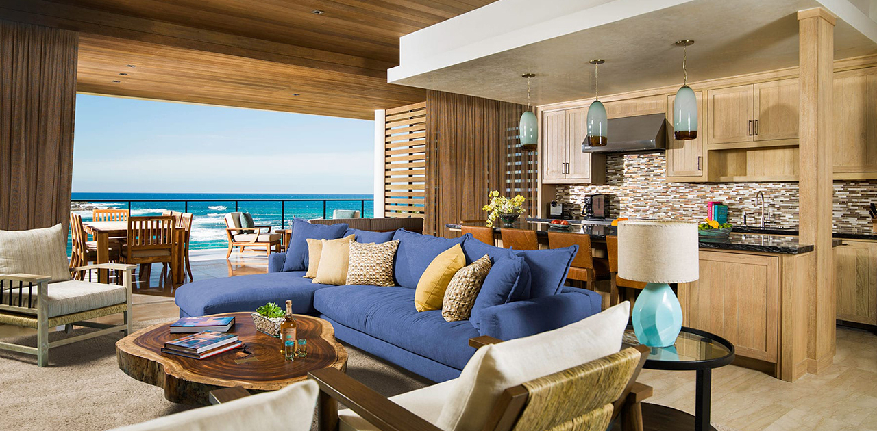 chileno bay resort 4 bedroom villa oceanfront dining table