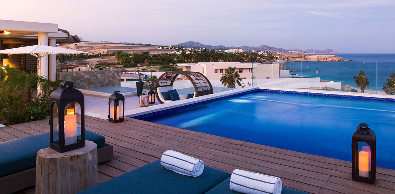 chileno bay resort 4 bedroom sky villa rooftop pool