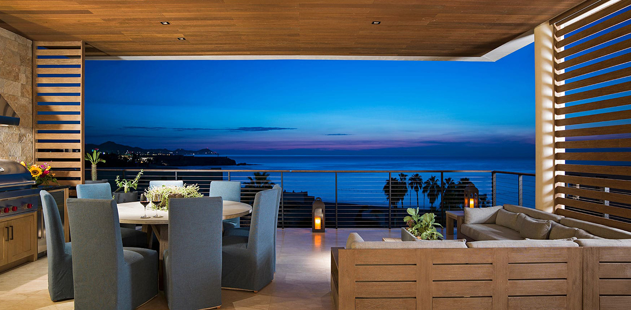 chileno bay resort 4 bedroom sky villa patio dining