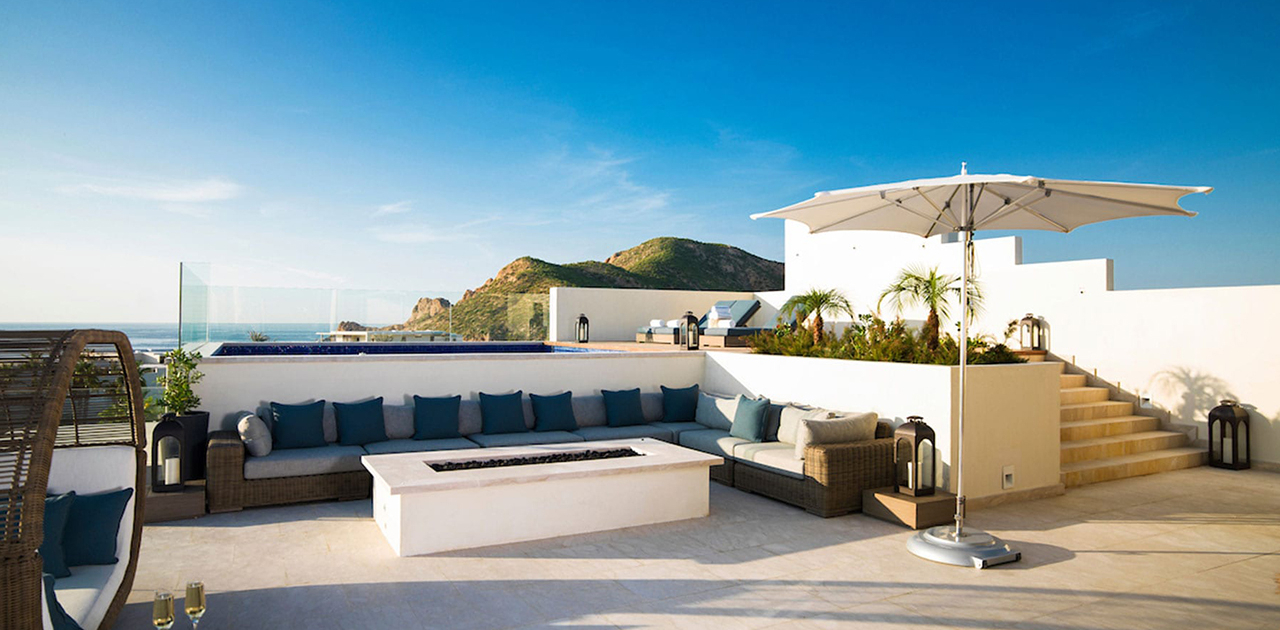 chileno bay resort 4 bedroom sky villa rooftop