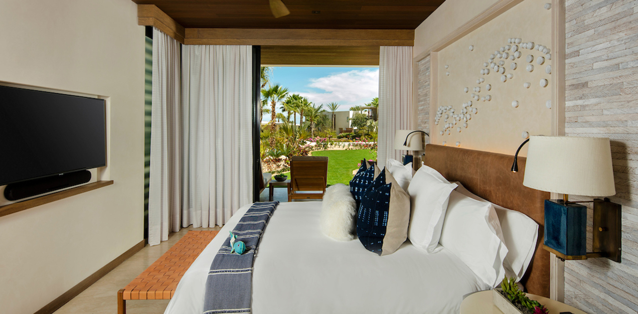 chileno bay resort view bedroom suite