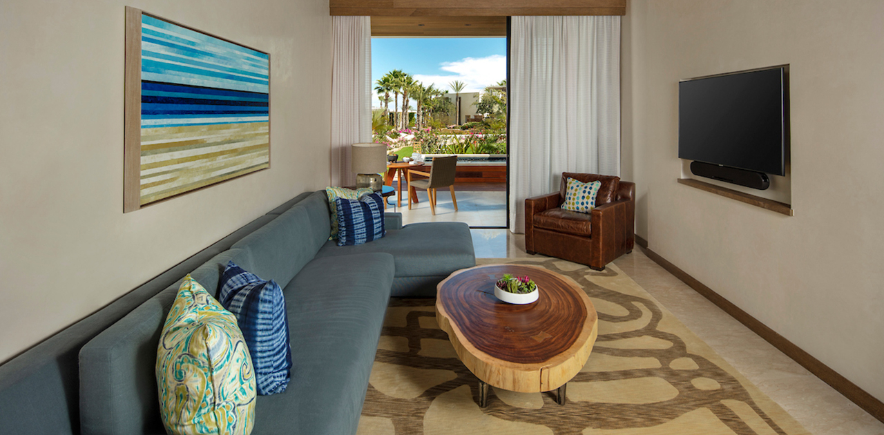 chileno bay resort view suite room