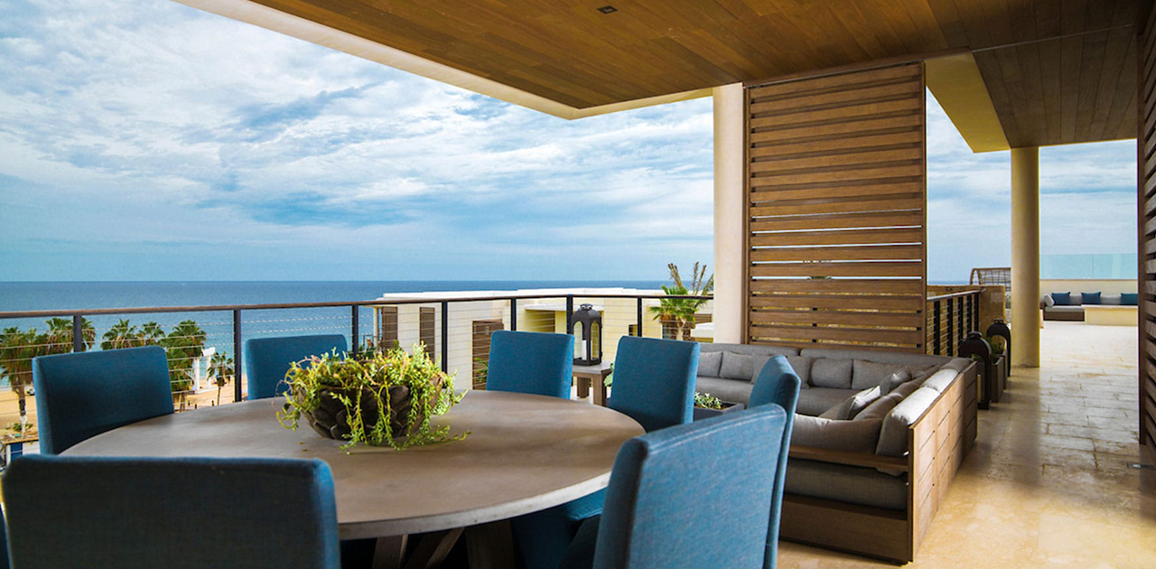 chileno bay resort 3 bedroom villa sky villa outdoor dining