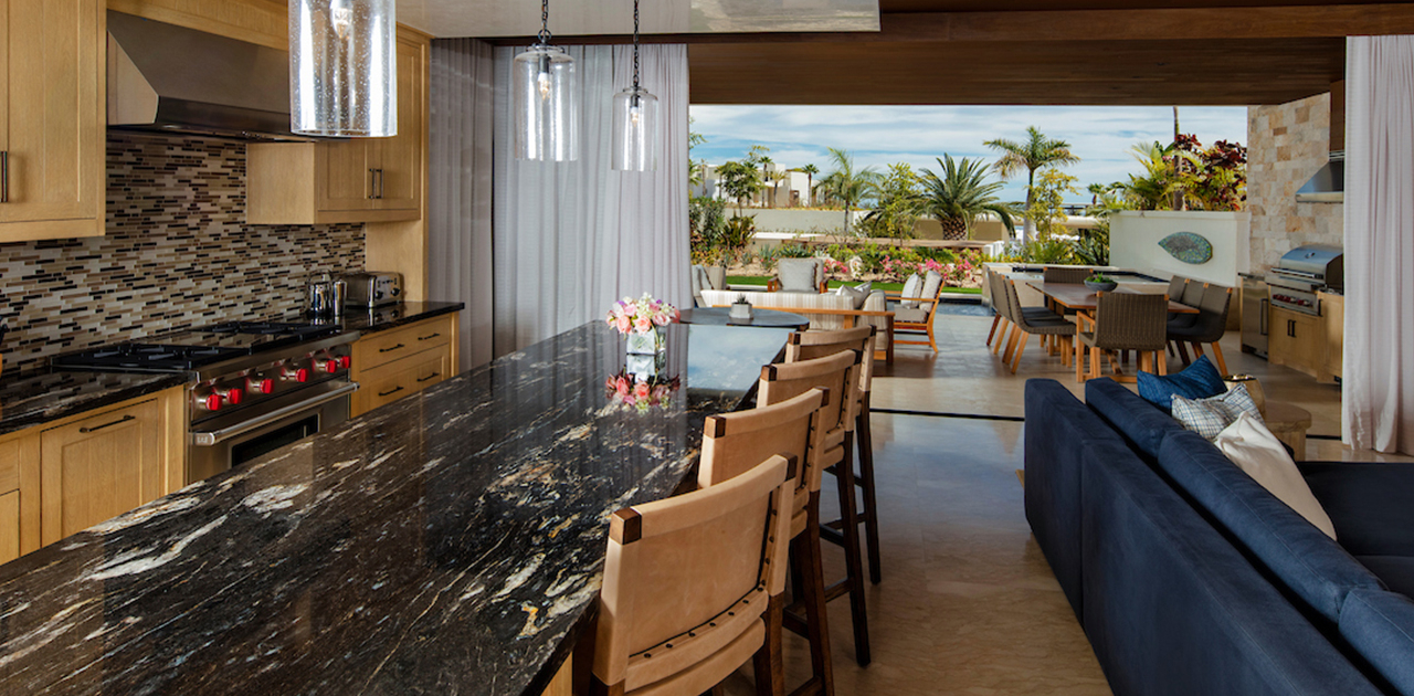 chileno bay resort two bedroom resort view villa kitchen