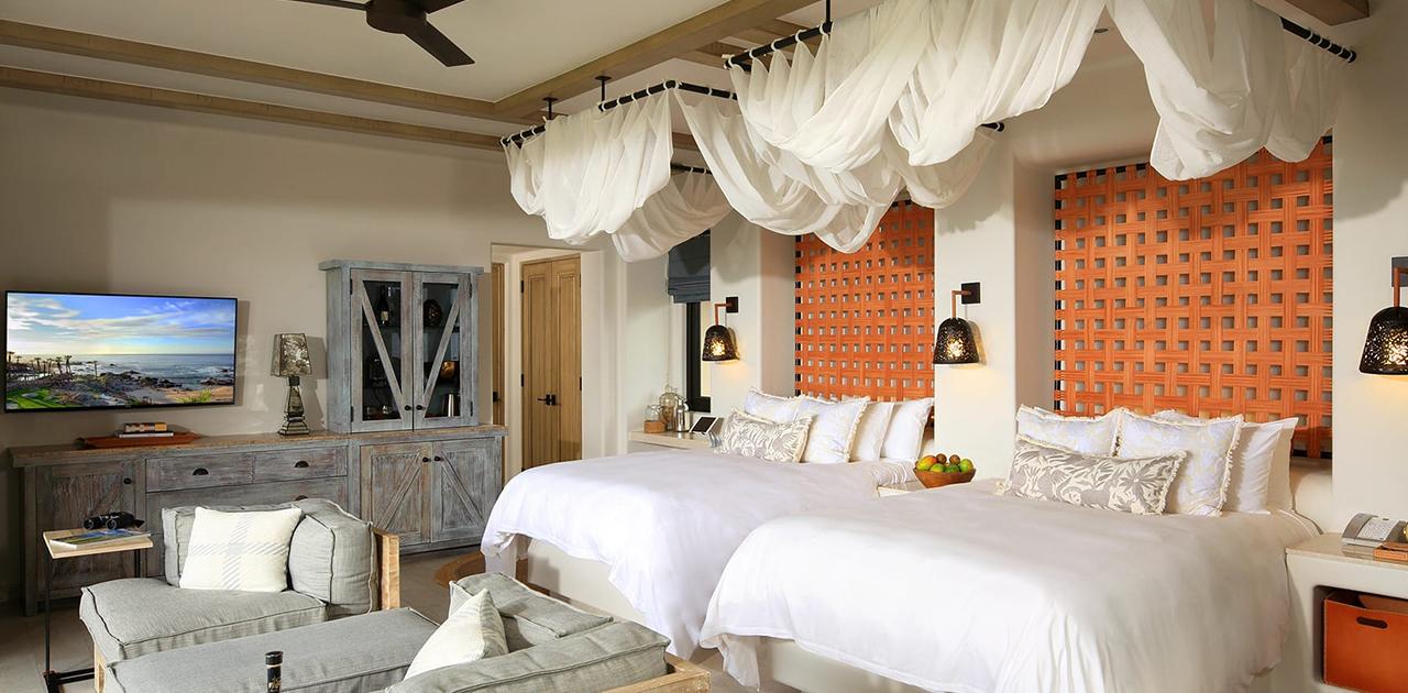 esperanza cabo oceanview garden casita bedroom