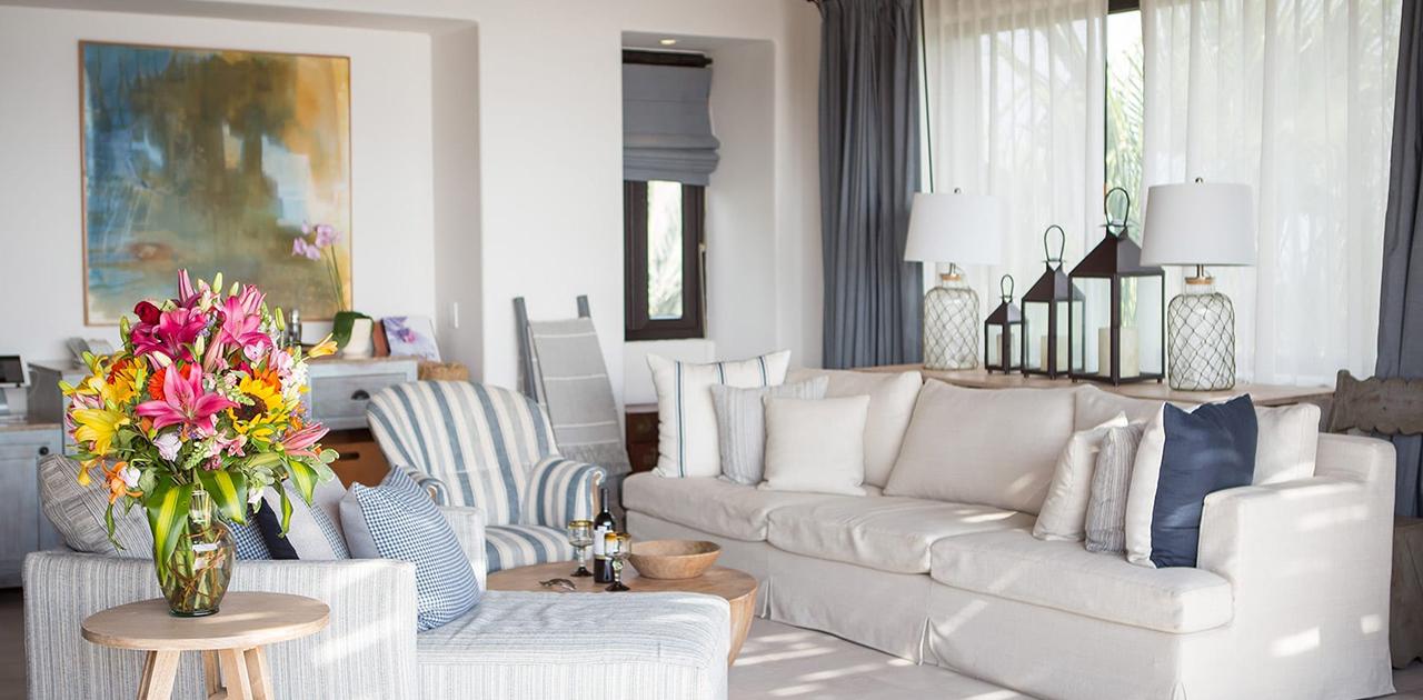 esperanza cabo oceanview penthouse suite living room
